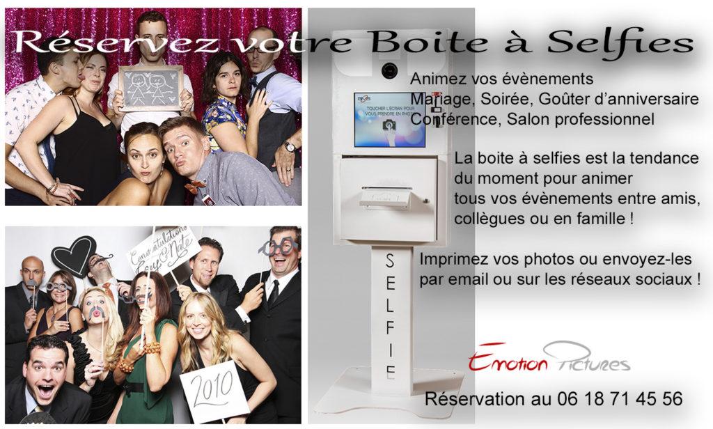 Borne à Selfies location pour mariages
